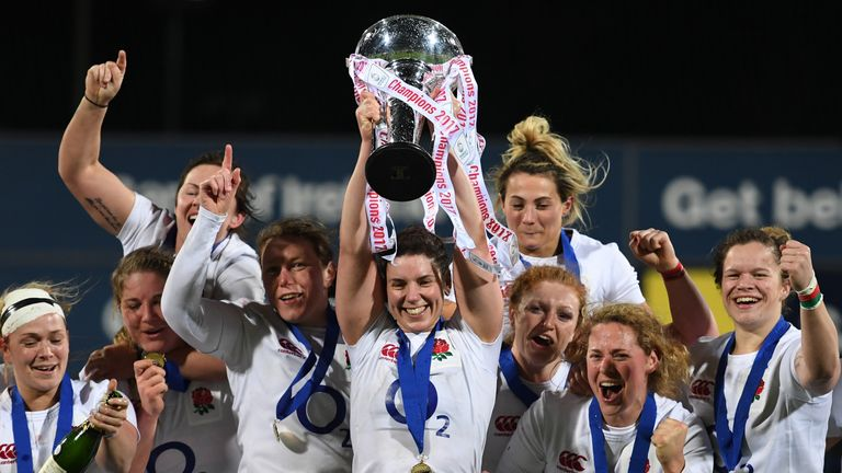 Sarah Hunter will lead England at this summer's World Cup