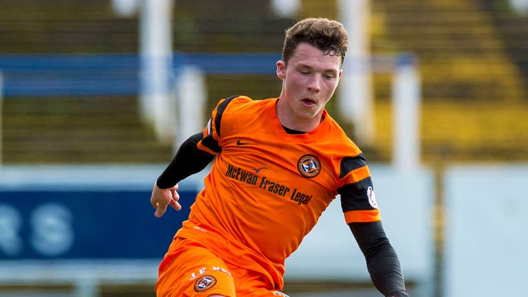 Brentford have signed Dundee Utd midfielder Ali Coote for their B team