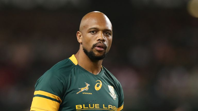 Lionel Mapoe comes into the Springbok side for the second test against France