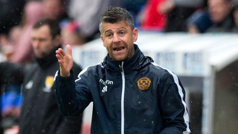 Motherwell manager Stephen Robinson secured Premiership survival last season