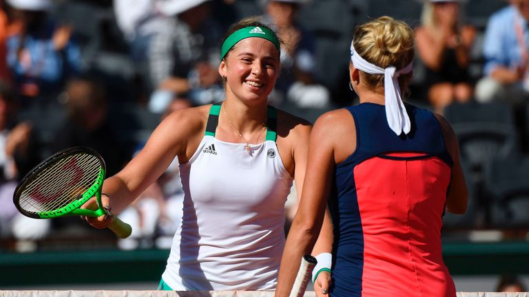 Ostapenko is the youngest player to reach the French Open final since 19-year-old Ana Ivanovic 10 years ago