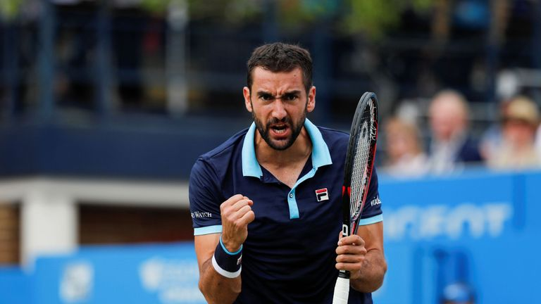 Marin Cilic is a former two-time winner at Queen's Club