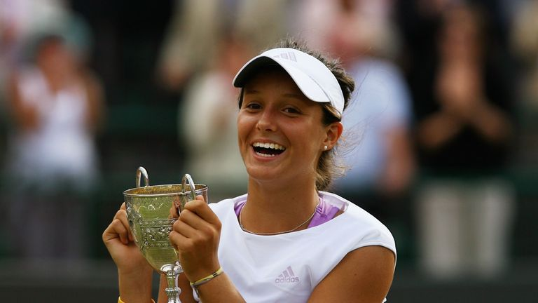Laura Robson won the Wimbledon girl's singles final in 2008