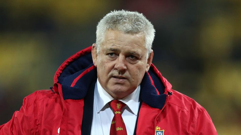 Warren Gatland led the Lions to a series victory against Australia in 2013