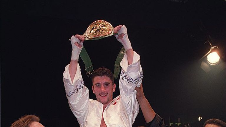 Wayne McCullough had to travel to Japan to win the WBC world title