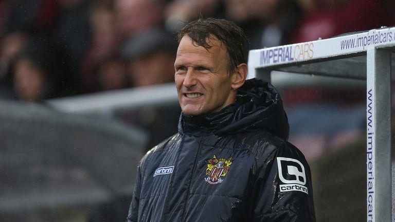 Teddy Sheringham during his time at Stevenage
