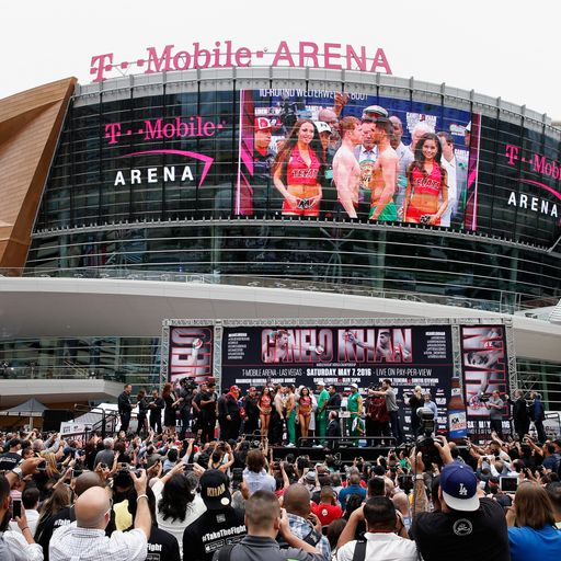 Why Las Vegas for the return fight?