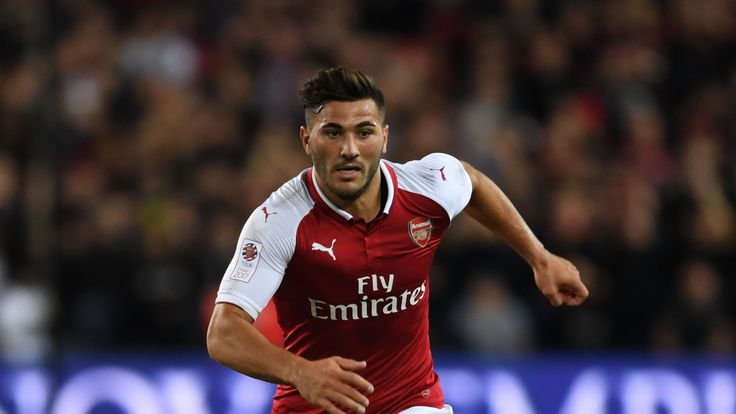 Sead Kolasinac in action for Arsenal against Western Sydney Wanderers at ANZ Stadium on July 15, 2017 in Sydney, Australia.