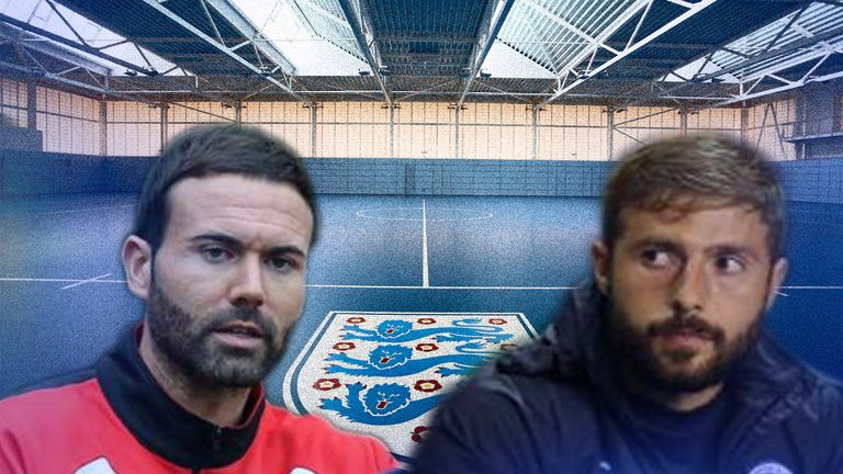 Spanish coaches Edu Rubio and Joaquin Gomez believe in England's youngsters