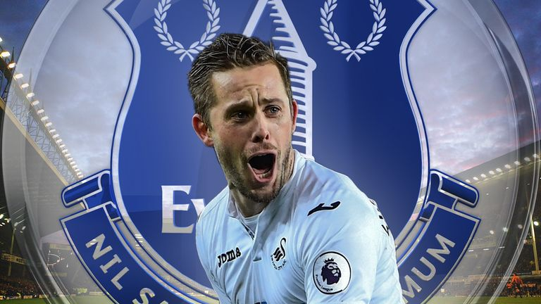 Gylfi Sigurdsson has been linked with a £50m move from Swansea to Everton