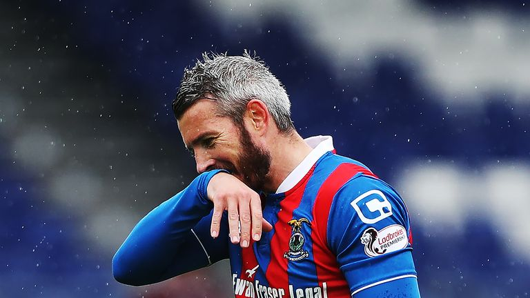 Kevin McNaughton during his final season with Inverness