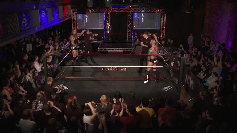 WWE has a working relationship with Scottish promotion ICW