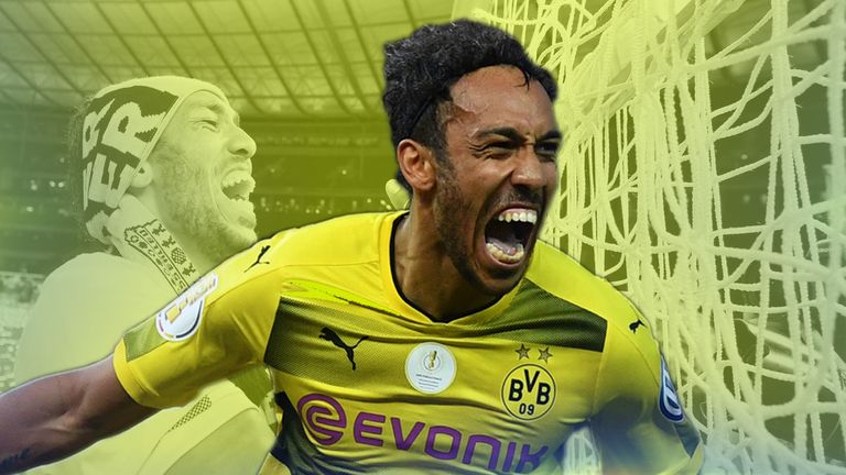 Borussia Dortmund and Gabon international striker Pierre-Emerick Aubameyang