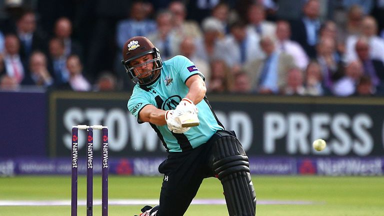 Aaron Finch had another prolific T20 summer with Surrey