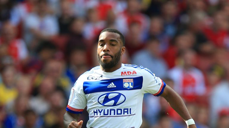 File photo dated 13-06-2017 of Alexandre Lacazette.