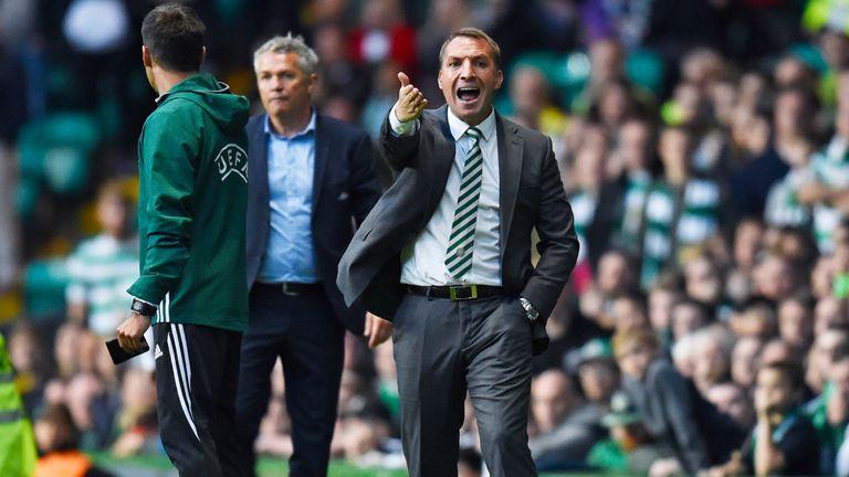 Brendan Rodgers oversaw Celtic's goalless draw against Rosenborg