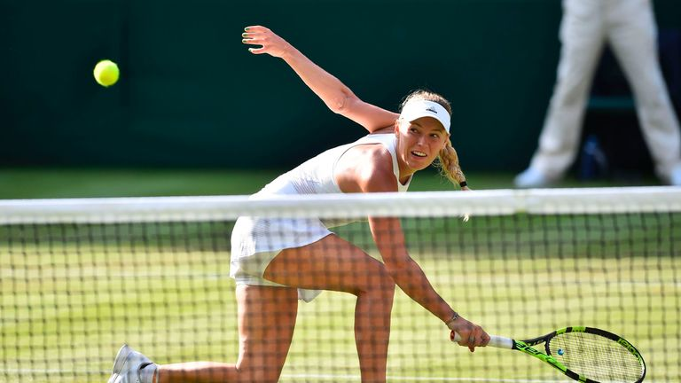 Caroline Wozniacki says the 'other Grand Slams are more equal' than Wimbledon