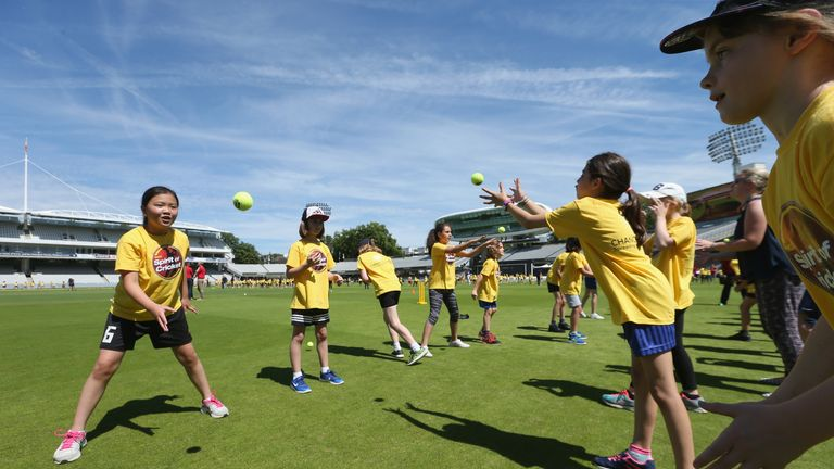 Khan is the former chief executive of the cricket in schools charity Chance to Shine
