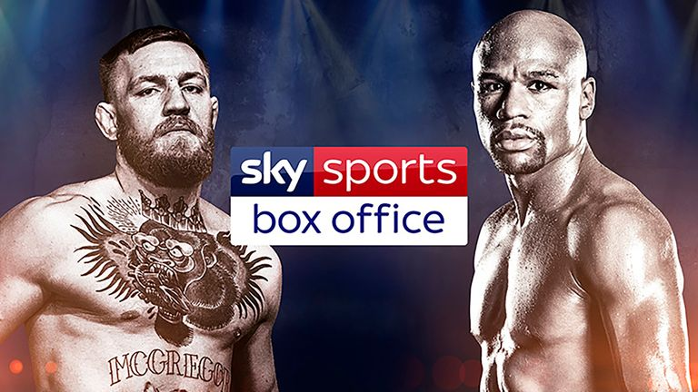 Mayweather v McGregor is live on Sky Sports Box Office on August 26