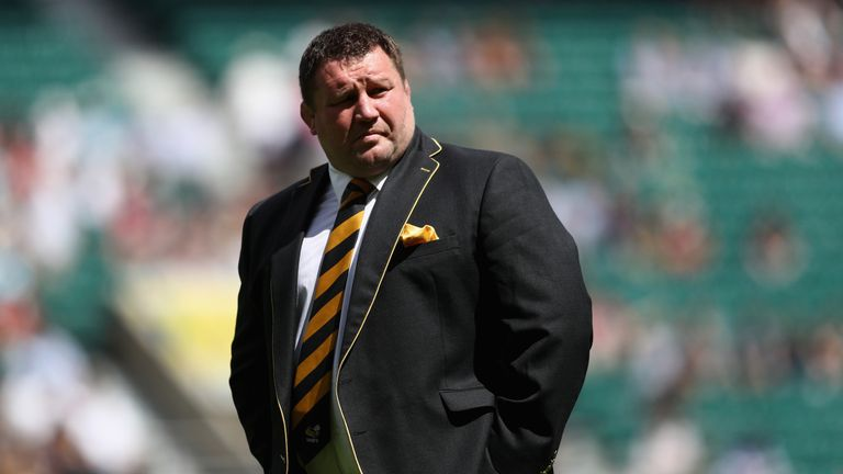Dai Young has been in charge at Wasps since 2011, bringing in son Thomas in 2014