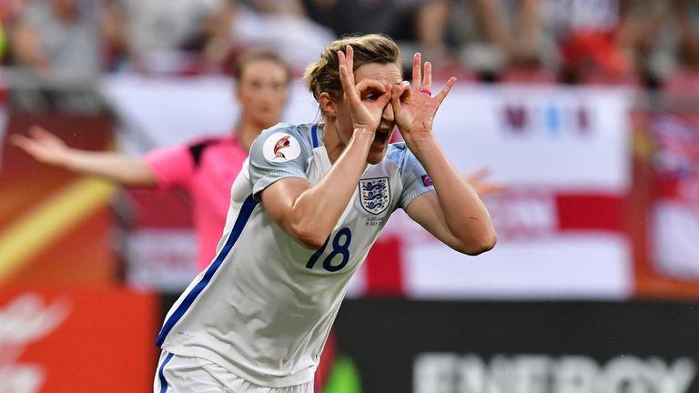 Ellen White put England 3-0 up