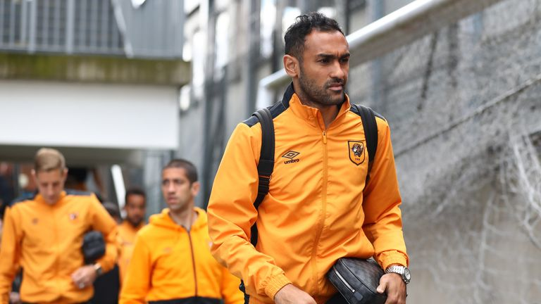 Ahmed Elmohamady has left Hull's pre-season tour for talks with Aston Villa, according to Sky sources