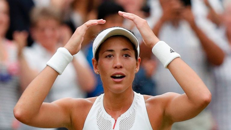 Spain's Garbine Muguruza claimed the prestigious grass court ladies' prize for the first time in July