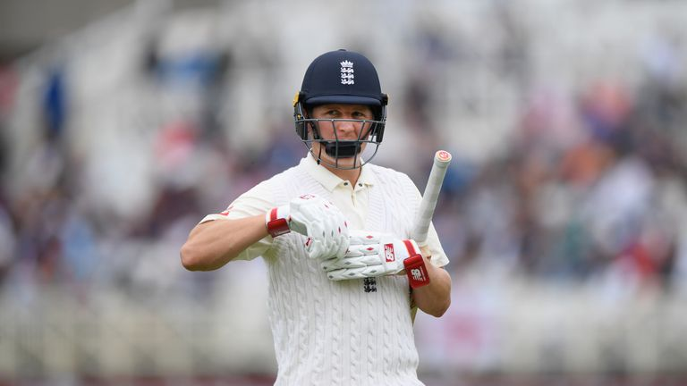 Gary Ballance endured a difficult time in his third spell in the England side