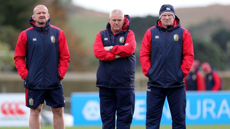 "Sam Warburton also praised the Lions management team, calling it a ""massive team effort"""