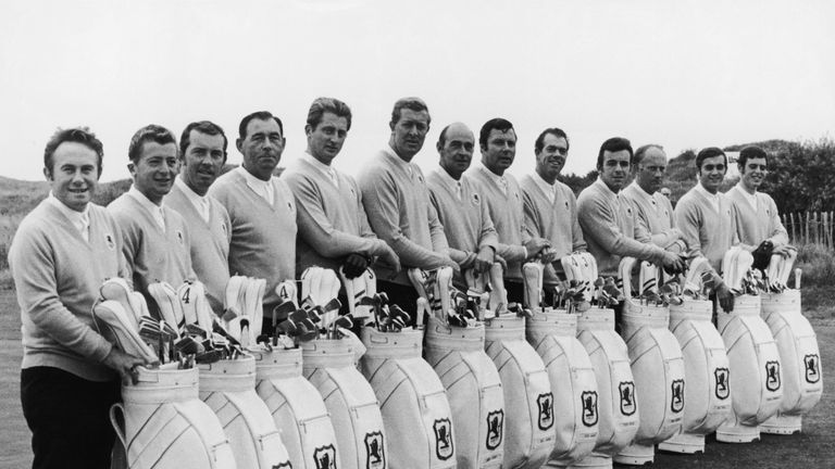 The 1969 Great Britain & Ireland team that played Royal Birkdale
