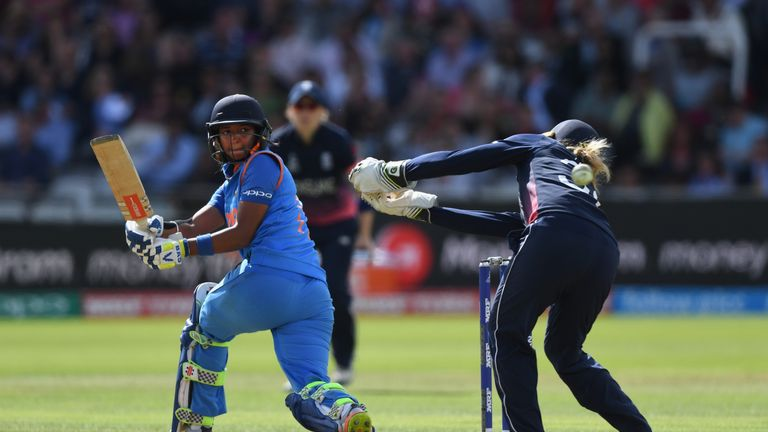 India reached the 2017 ICC Women's World Cup final where they ultimately lost to England at Lord's
