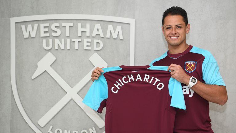 West Ham confirm Javier Hernandez signing from Bayer Leverkusen ... 9e64edf61