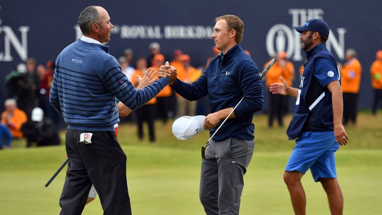 Kuchar and Spieth played out a dramatic tussle over the final day