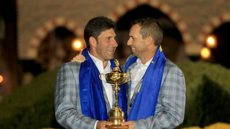 Jose Maria Olazabal oversaw the most incredible comeback in Ryder Cup history