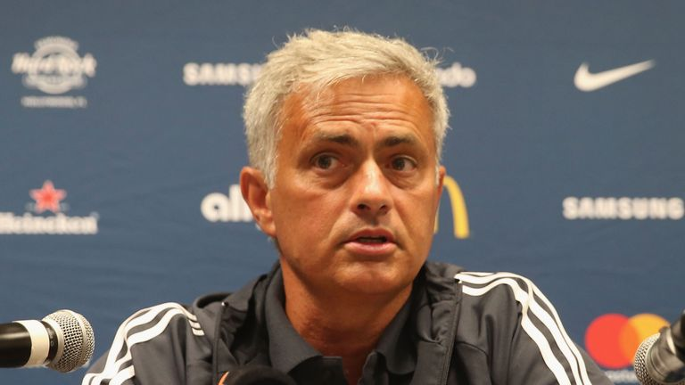 HOUSTON,Caption *** Jose Mourinho