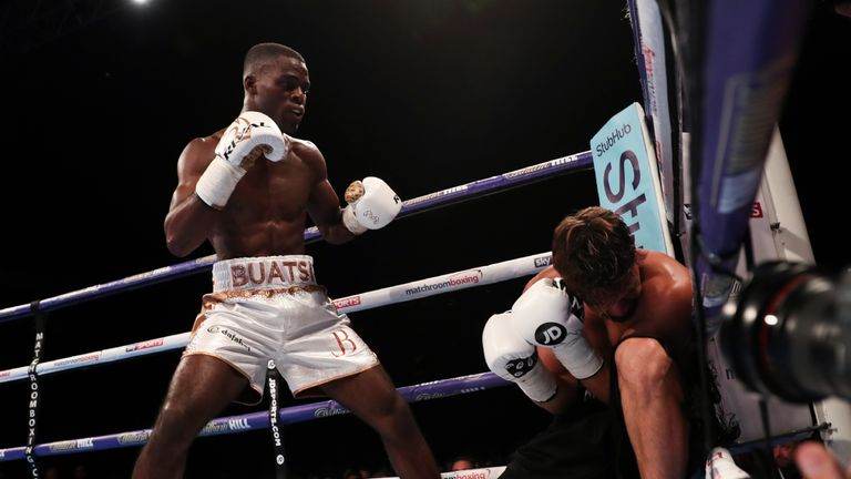 Joshua Buatsi lived up to the hype as he made his professional bow