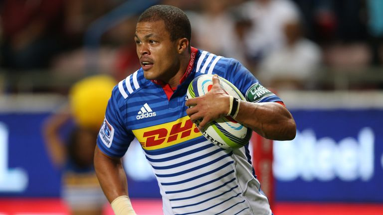 De Jongh left the Stormers in Super Rugby to join Wasps in 2017