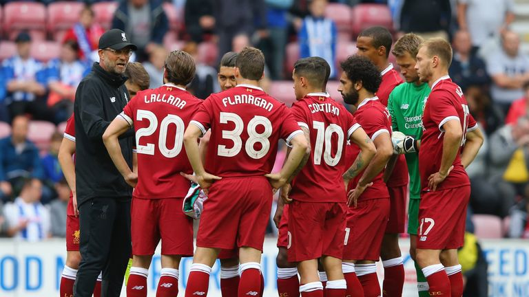Jurgen Klopp says improvement and development of the current Liverpool squad is important