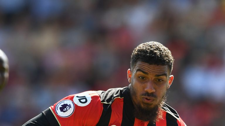 Lewis Grabban joined Bournemouth for a second time for £7m in 2016