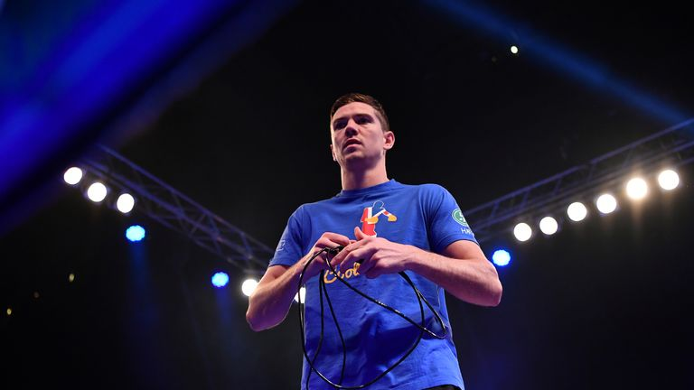 Campbell has been preparing for his first world title fight