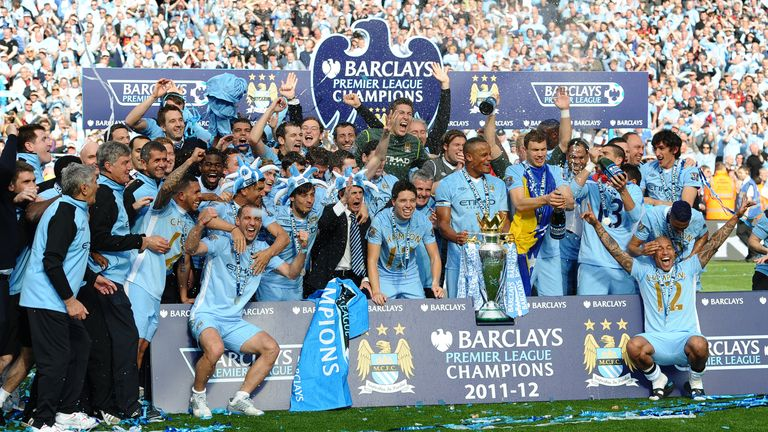 Manchester City are crowned champions