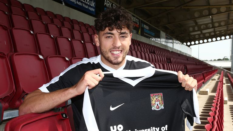 Matt Crooks has joined Northampton Town from Rangers