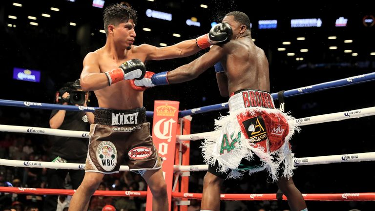 Mikey Garcia had little trouble solving 'The Problem'