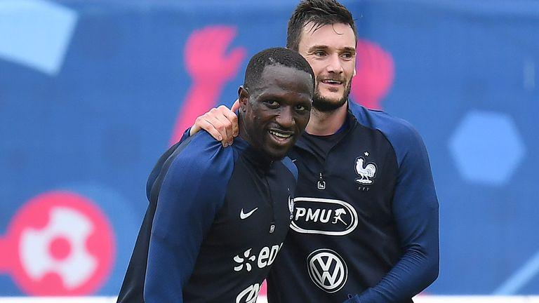 Moussa Sissoko plays for France alongside fellow Spur Hugo Lloris