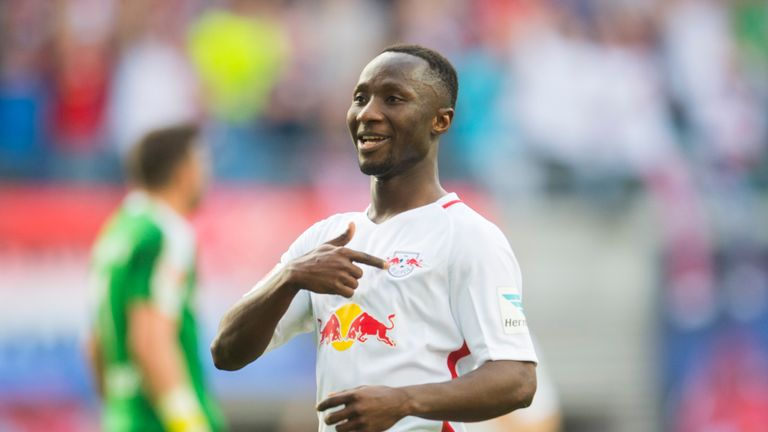 Naby Keita looks set to stay at Leipzig this summer
