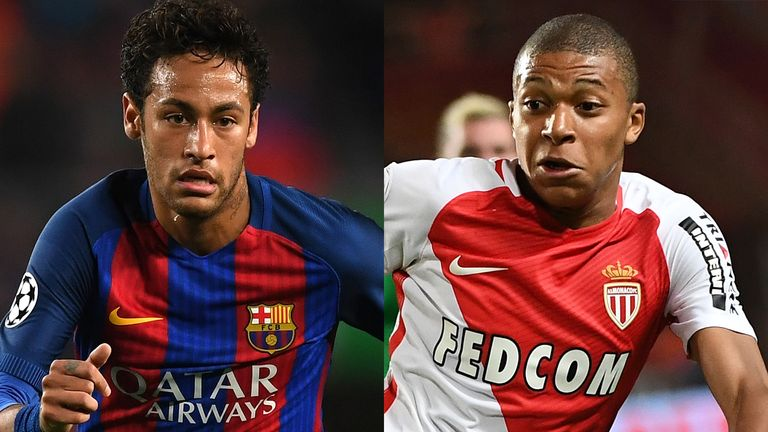 Neymar and Kylian Mbappe have both been on the move this summer