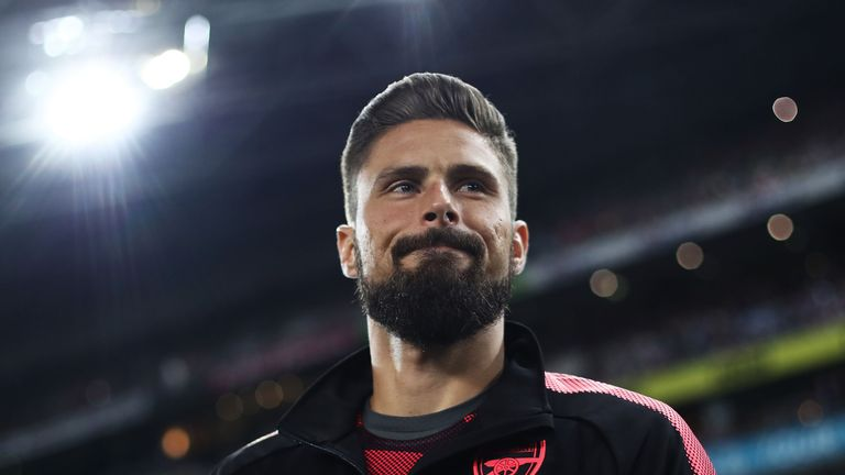 West Ham have ended their interest in Olivier Giroud, according to Sky sources