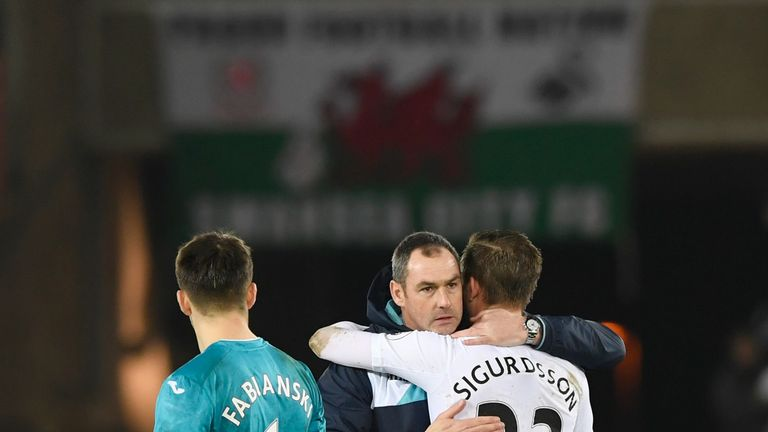 Sigurdsson's departure leaves a huge void in Paul Clement's Swansea squad, says Ian Wright