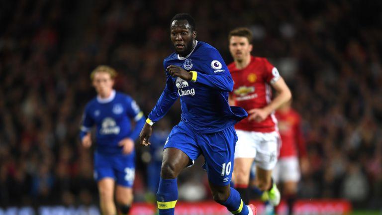 Man Utd have agreed a £75m fee for Everton's Romelu Lukaku