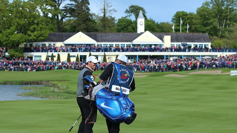 McIlroy had missed the cut in his previous three Irish Open appearances